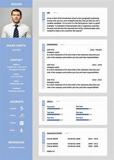 Cv Photo Tips Latest Cv Template Designs Resume Layout Font Creative