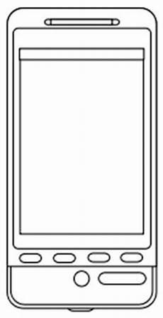 Malvorlagen Kostenlos Ausdrucken Handy Smartphone Malvorlage Business Telefon Ausmalbild