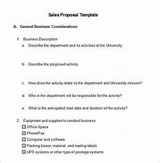 Business For Sale Proposal Template Sales Proposal Template 19 Free Sample Example Format