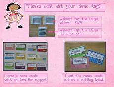 How To Make Name Tags Kindergarten Crayons Tag You Re It The Art Of Making