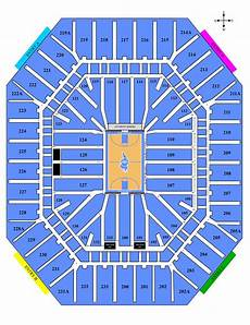 Dean E Smith Center Seating Chart Rows Seating Charts Rams Club