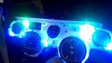 In Dash Led Lights 67 Mustang Led Dash Lights Installed Youtube