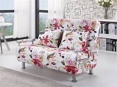 2017 polyester cloth sofa bed modern style floral pattern