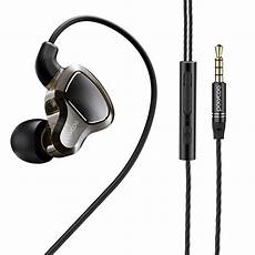 Bakeey Noise Cancelling Stereo Wired bakeey dual dynamic wired in ear earphone stereo noise