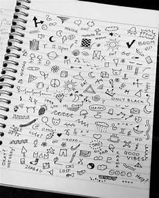 grunge doodles on