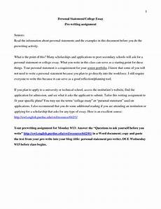 Personal Statement Essay Example For College How To Start Personal Statement For College Best Writing