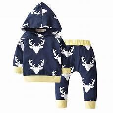 deer baby clothes birdie 2018 tops hoodie animals baby clothes set