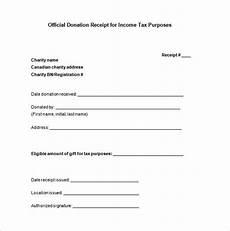 tax deductible receipt template 10 donation receipt templates doc pdf free premium