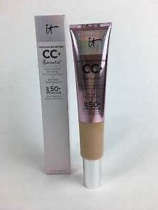 It Cosmetics Supersize Cc Illumination Light 2 53 Fl Oz It Cosmetics Cc Illumination Spf 50 2 53 Fl Oz