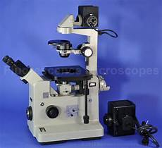 Phase Contrast Microscope Light Source Fluorescence Microscopes Nikon Diaphot Fluorescence