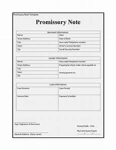 Free Printable Promissory Note Form 45 Free Promissory Note Templates Amp Forms Word Amp Pdf ᐅ