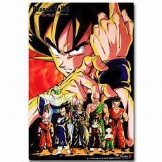 Anime Designer Dragon Ball Z Dragon Ball Z Characters Art Silk Fabric Poster Print