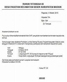 27 surat laporan keuangan rt