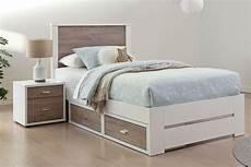 king single slat bed frame by platform 10 harvey