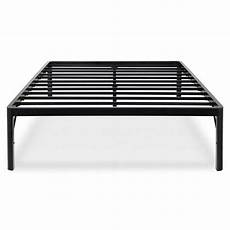 heavy duty 18 inch high rise metal platform bed frame