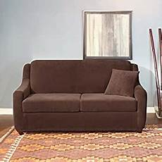 Sleeper Sofa Cover 3d Image by Surefit 39182 Stretch Pearson 3