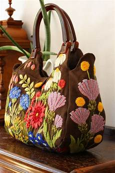 embroidery bags crewel embroidery and embroidery on