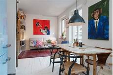 20 Square Meter Apartment Design Small Swedish Apartment As An Example Of Scandinavian Style