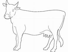 Outline Of Cow Cow Template Animal Templates Free Amp Premium Templates