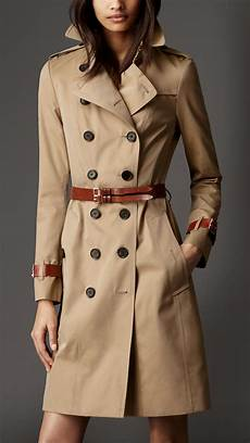 belts for trench coats burberry cotton gabardine leather detail trench coat