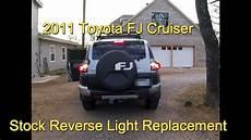 Fj Cruiser Backup Lights Toyota Fj Cruiser Led Reverse Lights Install Youtube