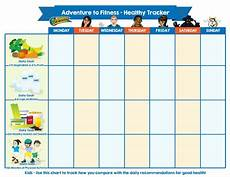 Daily Nutrition Chart For Children This Chart Was Created To Help Kids Track How They Compare