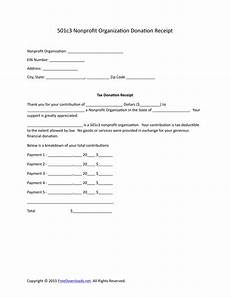 Donation Receipt Letter For Tax Purposes Download 501c3 Donation Receipt Letter For Tax Purposes