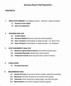 Sample Buisness Report 40 Business Report Templates Google Docs Apple Pages