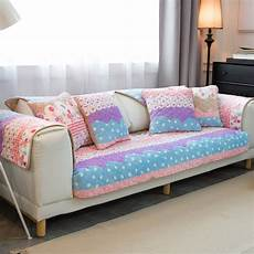 Patchwork Sofa Cover 3d Image by Pink Flower Sofa Cover Towel Patchwork Quilting Slip