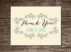 thank you card template wedding free free 23 printable thank you card templates in illustrator