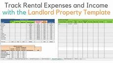 Rental Property Spreadsheet Excel Landlord Template Demo Track Rental Property In Excel