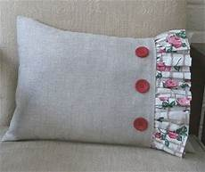 frilled cushion free sewing tutorial sewing patterns