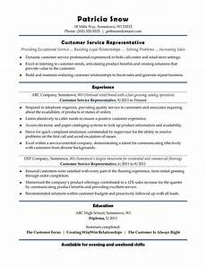 Good Resume For Customer Service Position 30 Customer Service Resume Examples ᐅ Templatelab