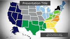Us Map Template Powerpoint Free United States Map Powerpoint Template 6323 Sagefox