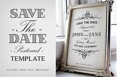 Free Downloadable Save The Date Templates Save The Date Postcard Template V 1 Wedding Templates