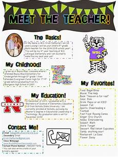 Examples Of Newsletters For Parents From Teachers Meet The Teacher Open House Newsletter Meet The