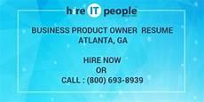 Resume Atlanta Business Product Owner Resume Atlanta Ga Hire It People