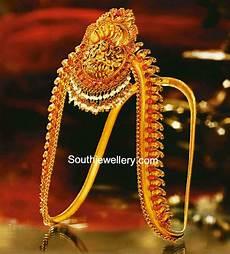 Arm Vanki Designs In Gold Traditional Gold Vanki Jewellery Designs