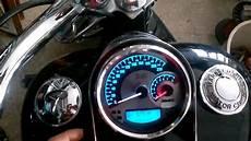 Harley Davidson Red Light On Speedometer Harley Combination Analog Speedometer Tachometer Spun