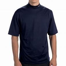 mens mock neck sleeve shirts reebok playdry t shirt mock neck sleeve for