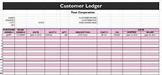 12 Excel General Ledger Templates Excel Templates