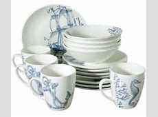 16 Piece Porcelain Dinnerware Set for 4 persons w