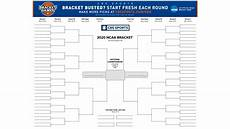 March Madness Brackets 2020 Ncaa Tournament Printable Bracket 2020 Print Your March