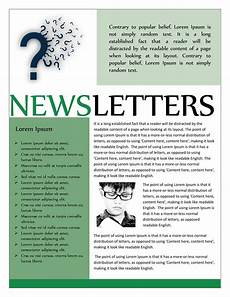 Monthly Newsletter Templates 50 Free Newsletter Templates For Work School And Classroom