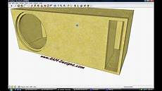 Ram Designs Ram Designs Re Audio 15 Quot Ported Box Design Youtube