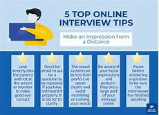 Tip For Job Interview Online Interview Questions And Tips