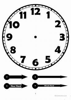 Free Printable Clocks Clock Worksheet Free Esl Printable Worksheets Made By