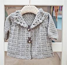 crochet baby toddler jacket by monpetitviolon craftsy