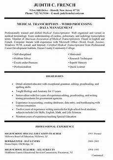 Specialized Skills For Resume Resume Template With Special Skills Google Search