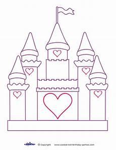 Malvorlagen Prinzessin Schloss Disney World Castle Coloring Page Search